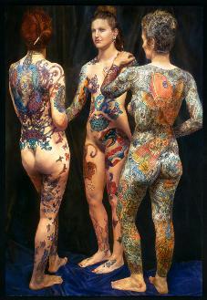 Nake Tattoo Women 45